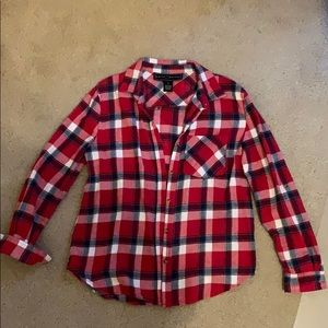 Plaid New York button up